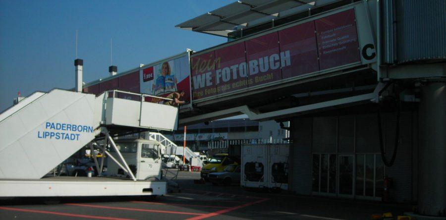 Gangway / Flughafen Paderborn