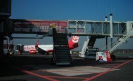 Flughafenwerbung Düsseldorf Kunde CEWE