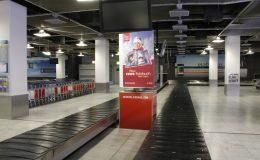Flughafenwerbung