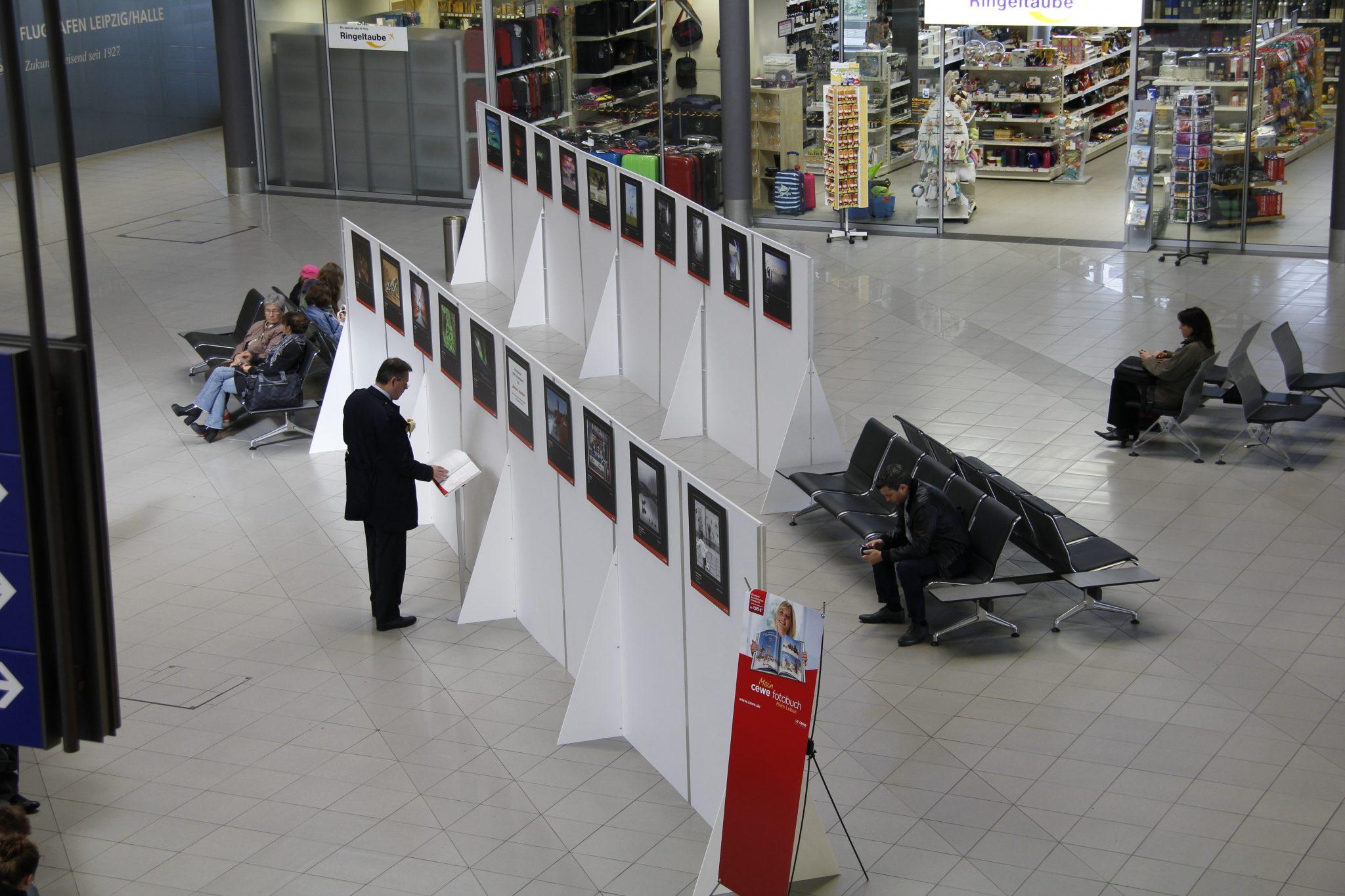 Fotoausstellung Flughafen Leipzig