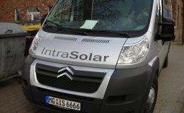 Fahrzeugbeschriftung Kunde IntraSolar