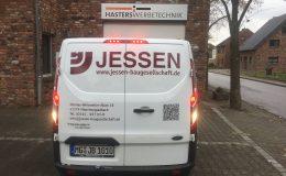 Fahrzeugbeschriftung für Fa. Jessen Baugesellschaft